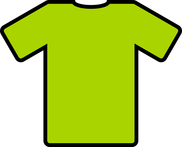 free vector Green T Shirt clip art