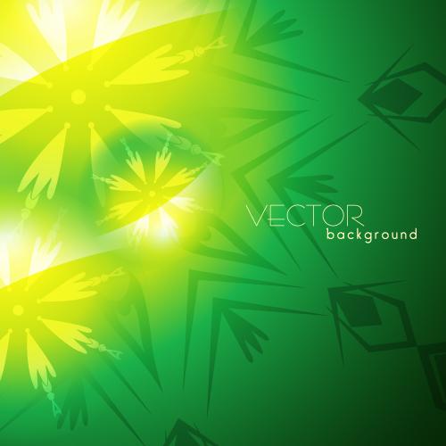 free vector Green textured background 02 vector