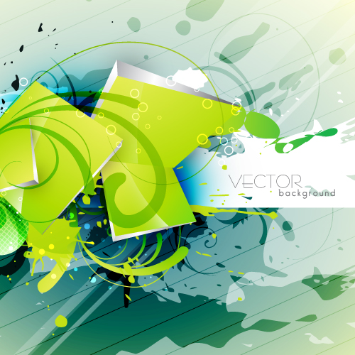 free vector Green textured background 03 vector