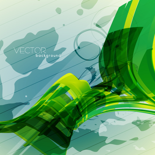 free vector Green textured background 04 vector