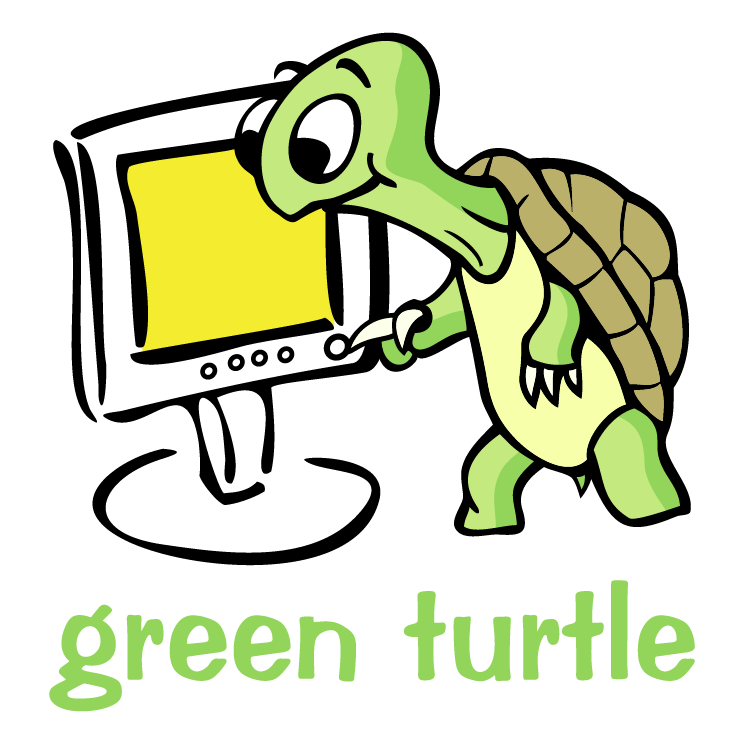 free vector Green turtle 0