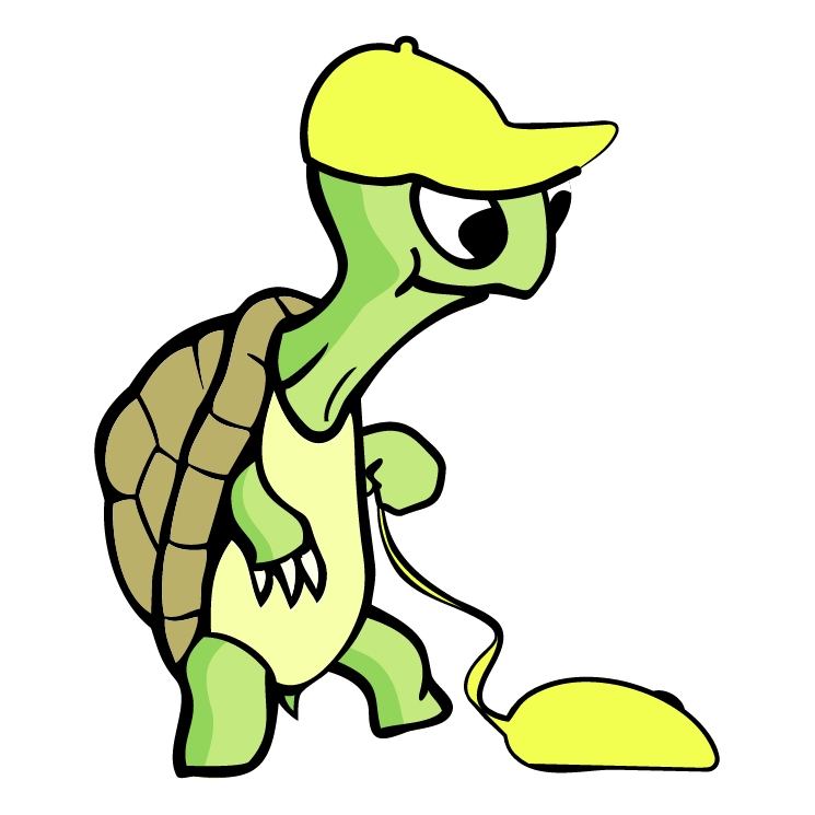 free vector Green turtle 2