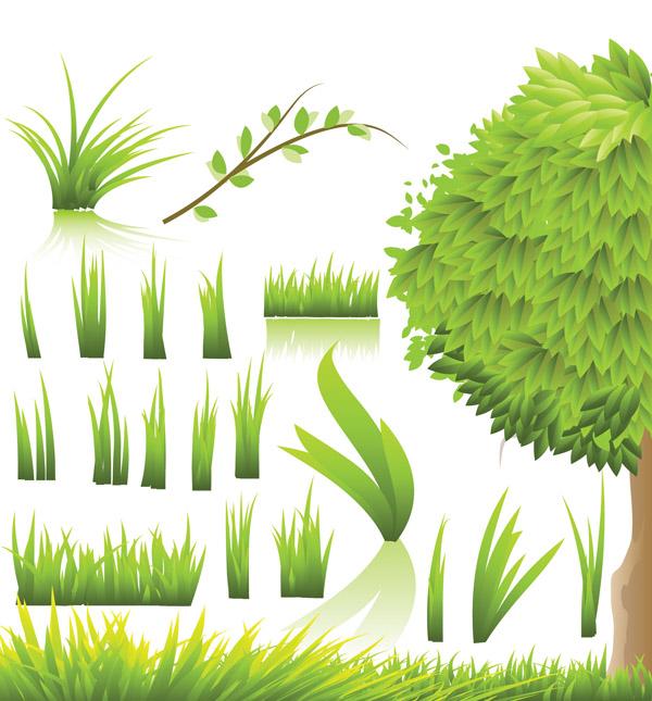 free vector Green vector