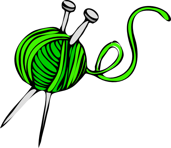free vector Green Yarn clip art