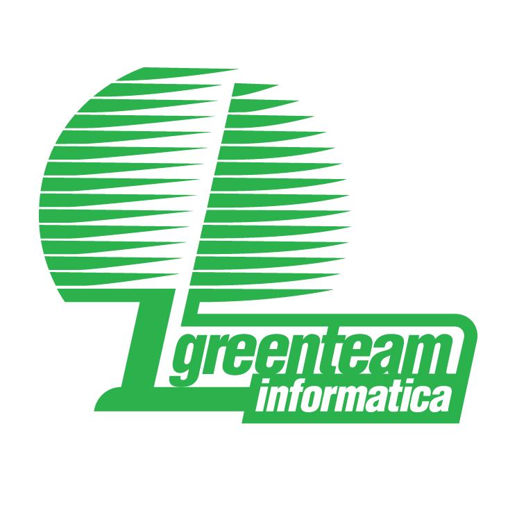 free vector Greenteam informatica