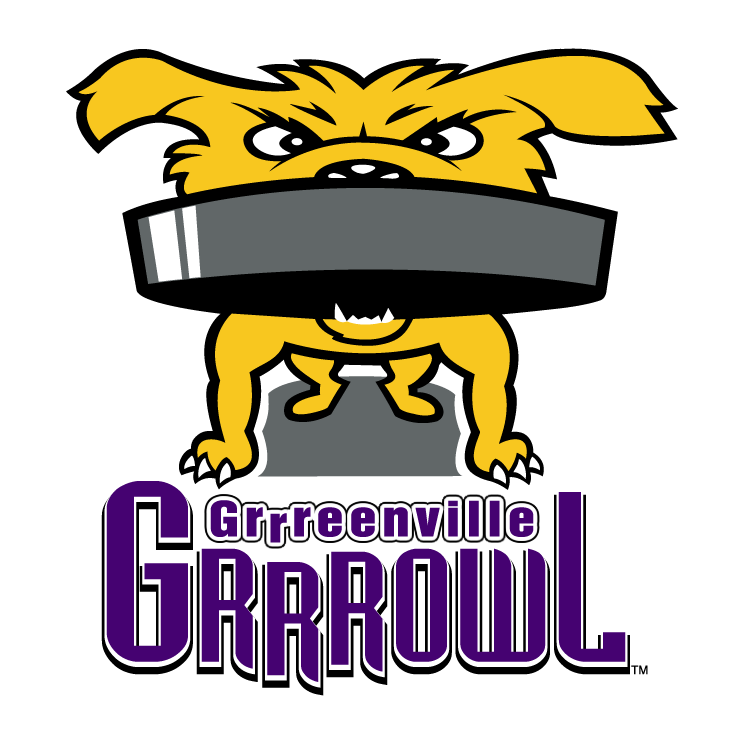 free vector Greenville grrrowl 1