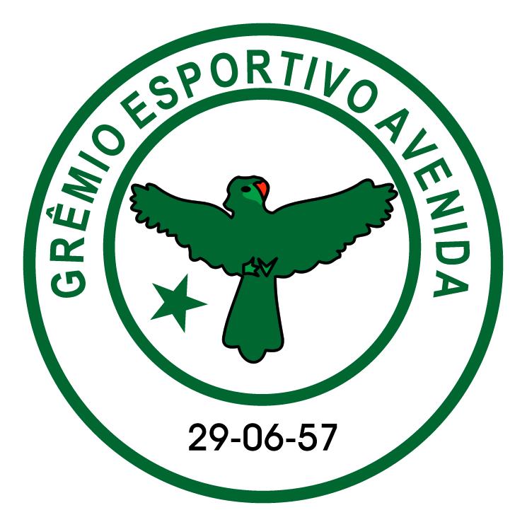 free vector Gremio esportivo avenida de soledade rs