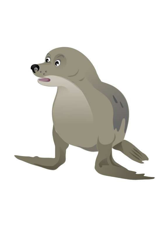 free vector Grey Seal