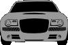 free vector Grey Sports Car clip art