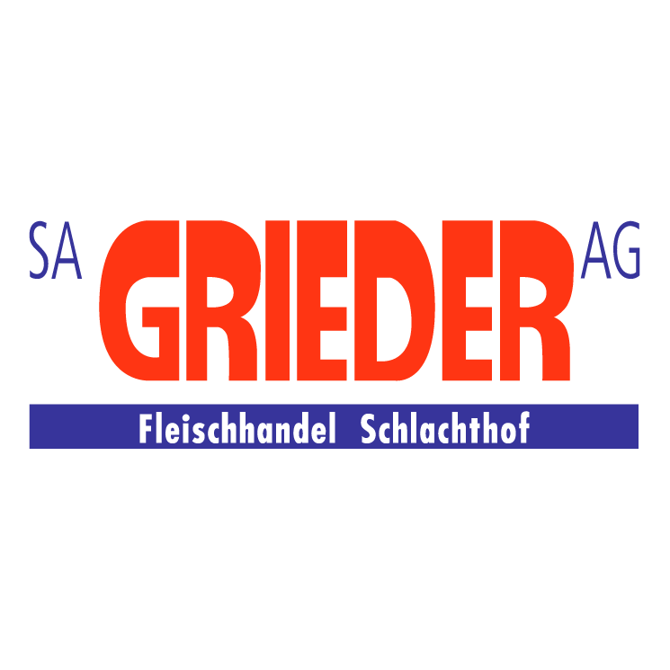 free vector Grieder ag