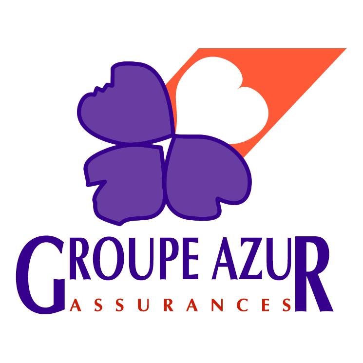 free vector Groupe azur assurances