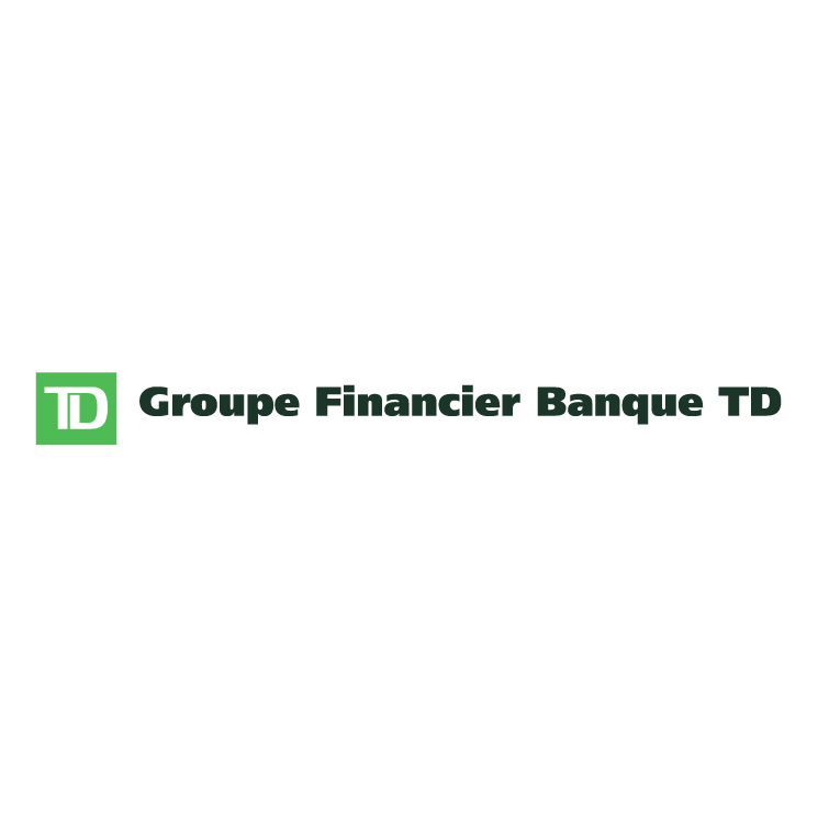 free vector Groupe financier banque td