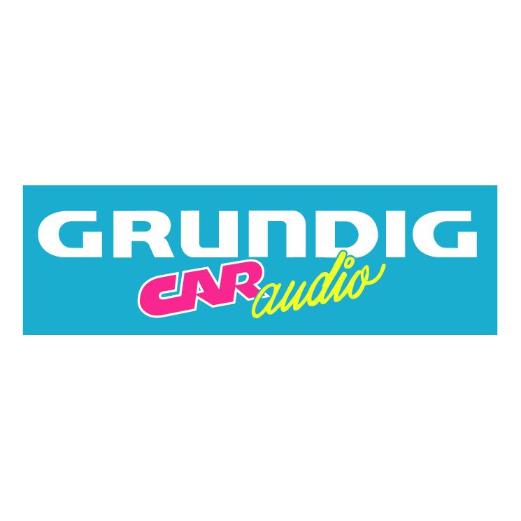 free vector Grundig car audio