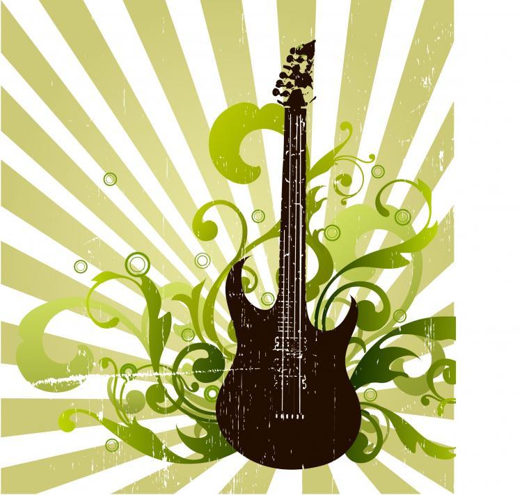 free vector Grunge Guitar