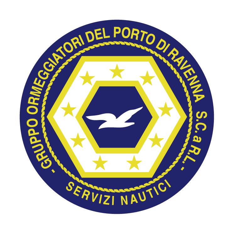 free vector Gruppo ormeggiatori portuali di ravenna