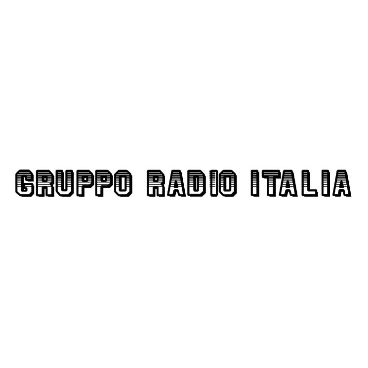 free vector Gruppo radio italia