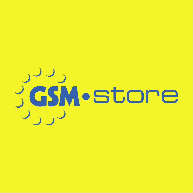 free vector Gsm store