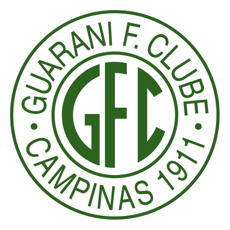 free vector Guarani futebol clube de campinas sp