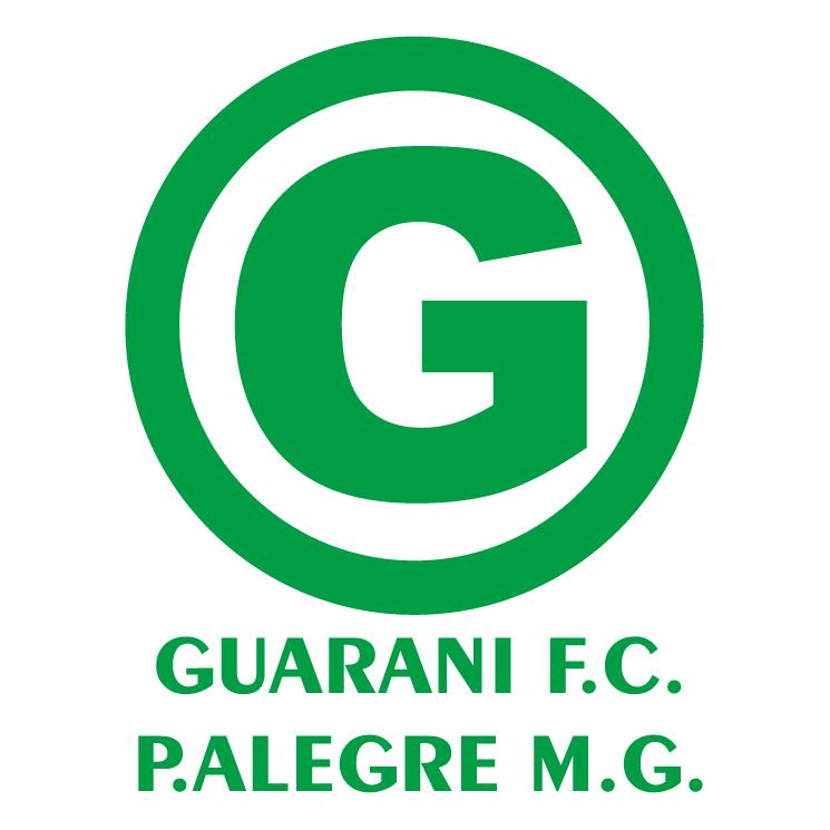 free vector Guarani futebol clube de pouso alegre mg