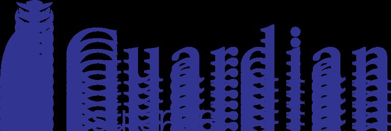 free vector Guardian logo