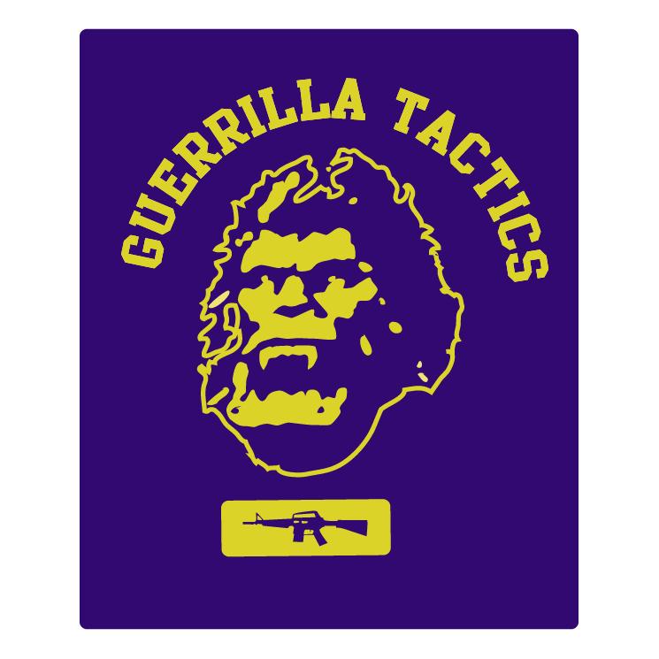 free vector Guerrilla tactics fuct