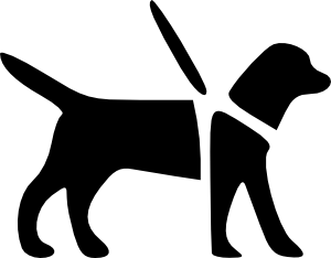 free vector Guidedog clip art