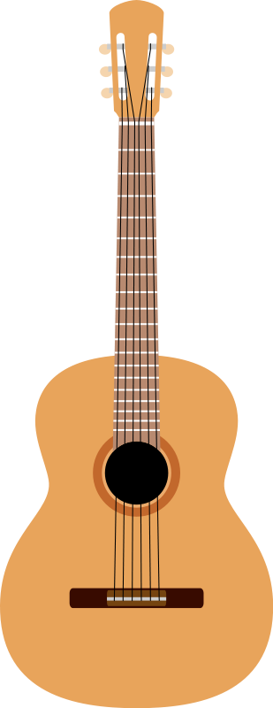 free vector Guitar by Rones