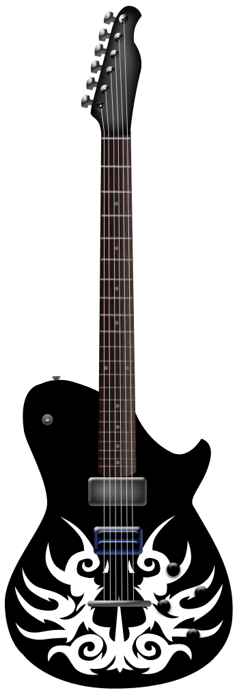 free vector Guitar music instrument vector