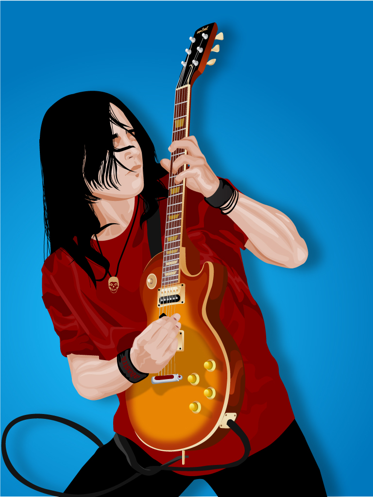 free vector Guitar player