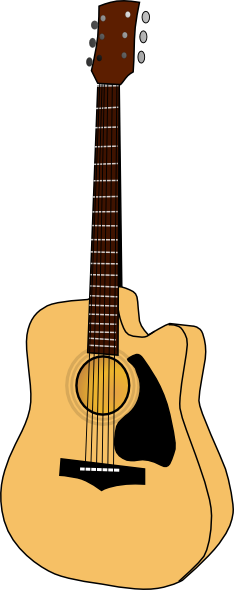 free vector Guitar2 clip art