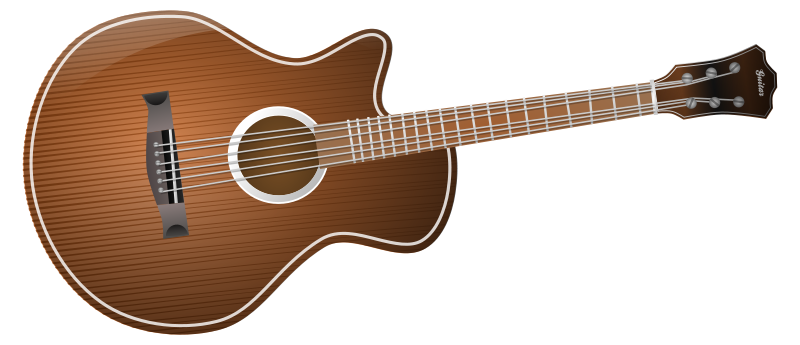 Free Vector Classical Acoustic Guitars | fuzzimo