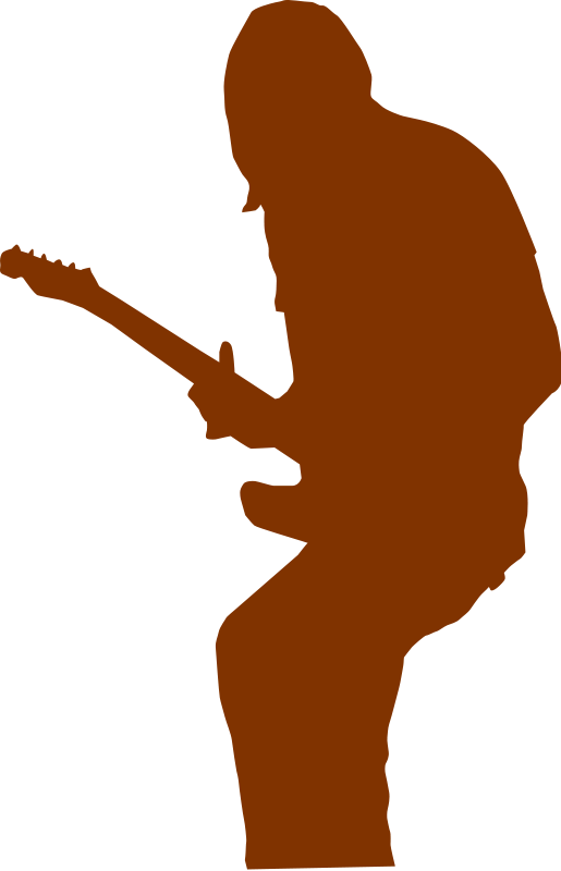 free vector Guitarist