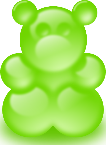 free vector Gummy Bear Sort Of clip art