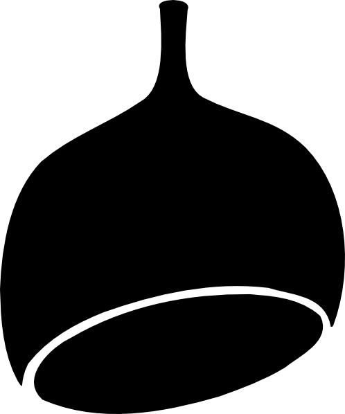 free vector Gumnut Black clip art