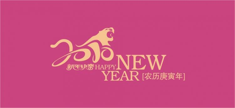 free vector Gun fu tiger 2010 new year vector