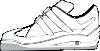 free vector Gym Shoe clip art