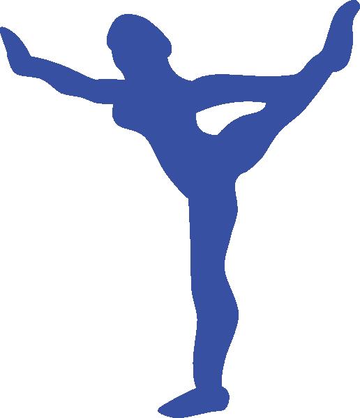 free vector Gymnast clip art