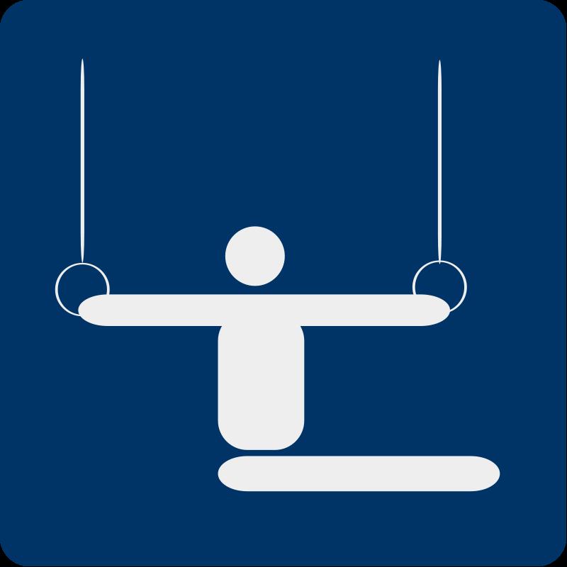 free vector Gymnastics pictogram
