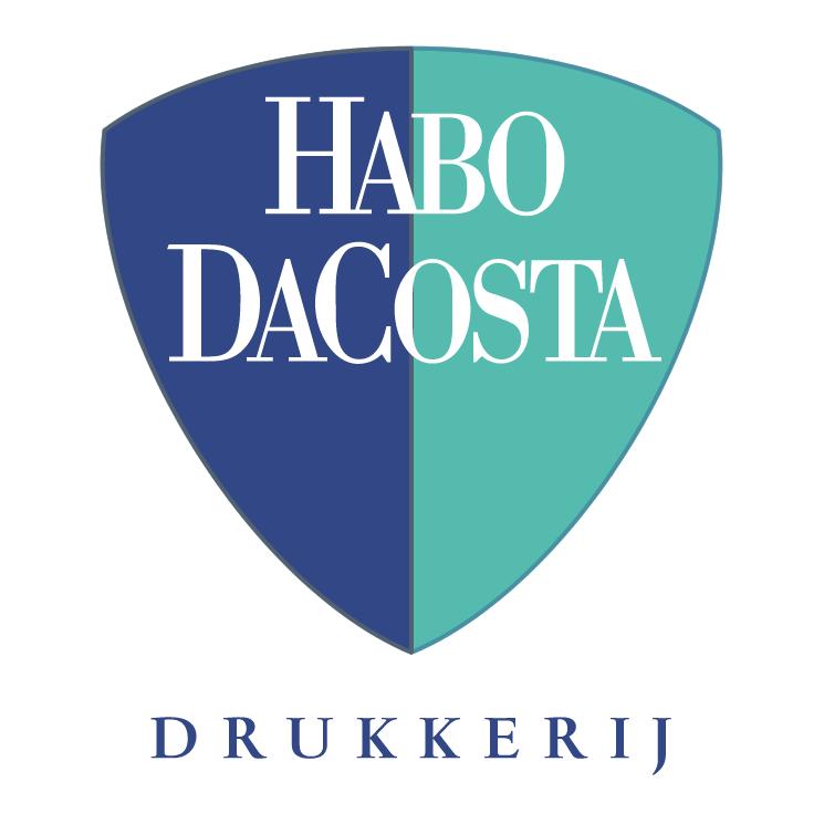 free vector Habo dacosta drukkerij