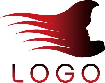 free vector Hair salon logo template vector