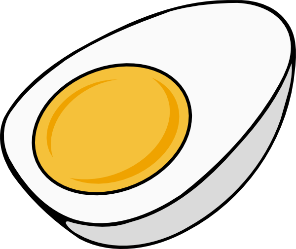 free vector Half_egg clip art