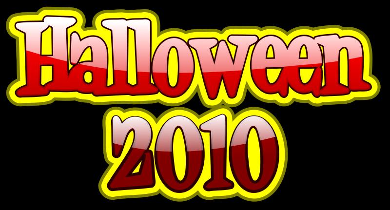 free vector Halloween 2010 3D