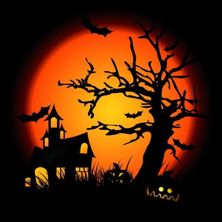 Halloween Clip Art Illustrations Free Vector 4Vector