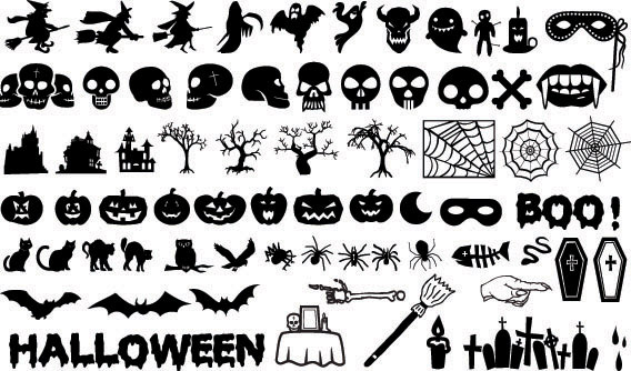 Halloween element (5513) Free EPS Download / 4 Vector