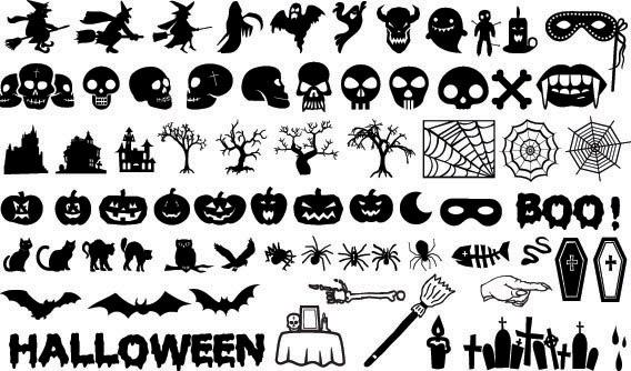 Halloween Vectors free vector halloween element vector Free Vector Halloween Element Vector
