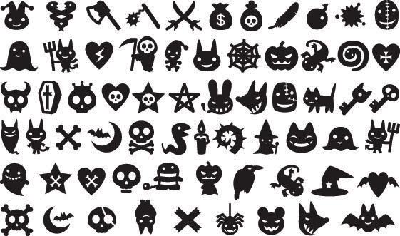 free vector Halloween element vector free vector Halloween element vector  ...