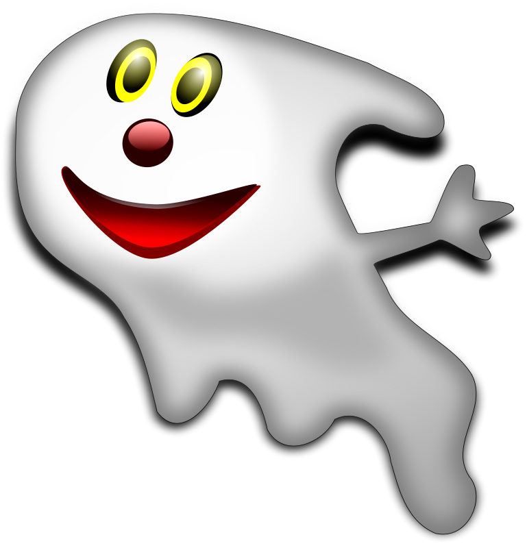 free vector Halloween Ghost 2