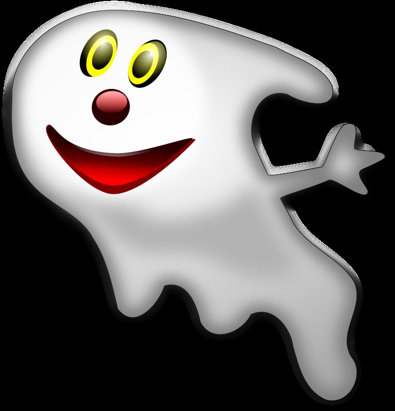 Halloween Ghost 2 Free Vector 4vector