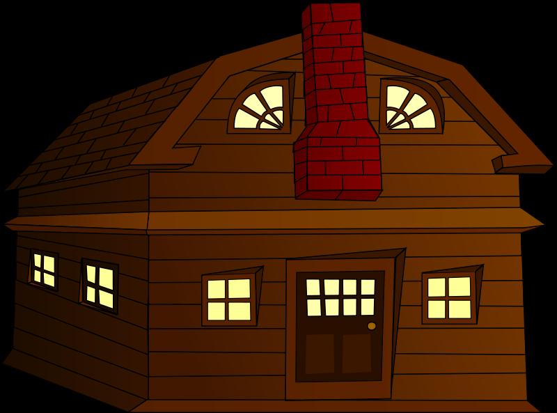 free vector Halloween Horror House Small