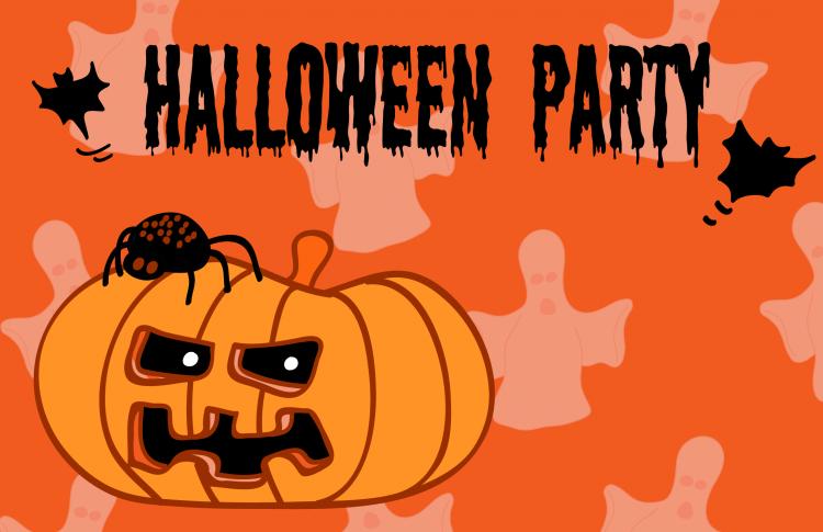 Halloween Party Invitation Card 1 Free Vector / 4Vector